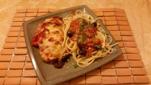 Luke's Quick and Easy Gourmet Chicken Parmigiana with A Light San Marzano Sauce